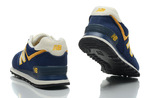 New Balance 574 Blue Yellow фото 9