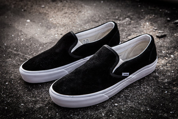 Vans Slip-On Suede Black