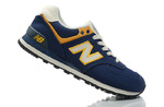 New Balance 574 Blue Yellow фото 7