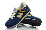 New Balance 574 Blue Yellow фото 5
