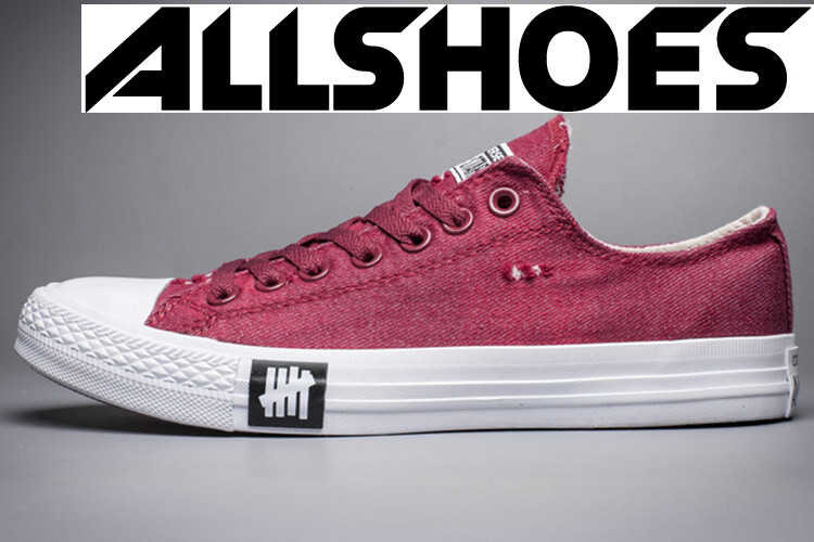 Converse Chuck Taylor All Star Denim Crystal Bottom Red