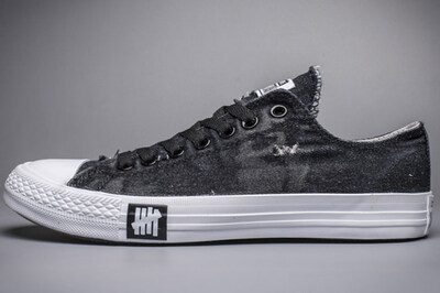 Converse Chuck Taylor All Star Denim Crystal Bottom Black