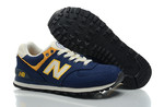 New Balance 574 Blue Yellow фото 4