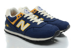 New Balance 574 Blue Yellow фото 3