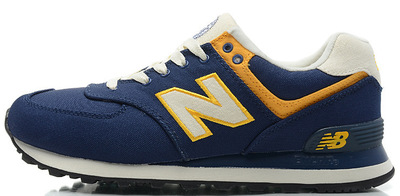 New Balance 574 Blue Yellow