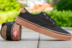 Vans Authentic Gold Coast Black Brown фото 3