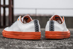 Converse Cons White/Orange фото 9