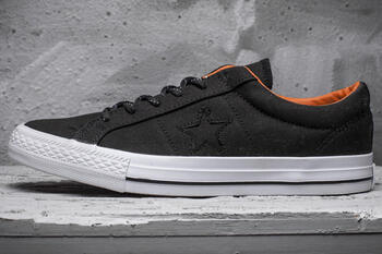 Converse Cons Black/Orange