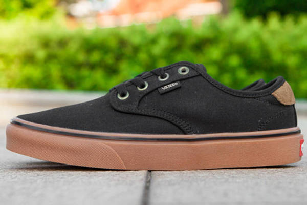 Vans Authentic Gold Coast Black Brown