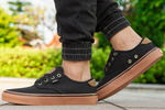 Vans Authentic Gold Coast Black Brown фото 5