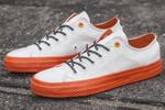 Converse Cons White/Orange фото 8