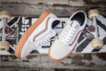 Vans Old Skool White Gray фото 6