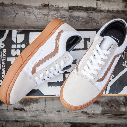 Vans Old Skool White Gray