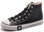 Converse All Star High Leather Winter Black фото 4