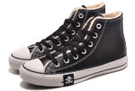 Converse All Star High Leather Winter Black фото 6