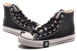 Converse All Star High Leather Winter Black фото 7