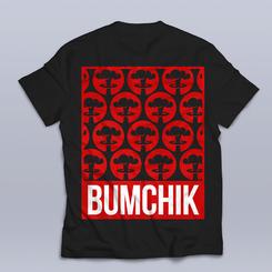 """Футболка """"Bumchik Red"""" от Паши Бумчика"""