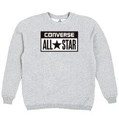 Толстовка Gray Converse Classic White Rectangle Label