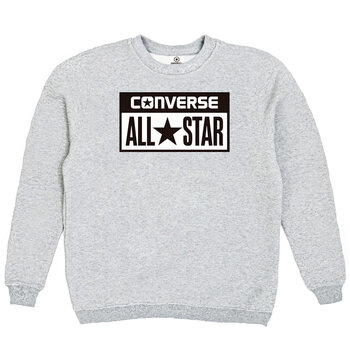 Толстовка Gray Converse Classic White Rectangle Label