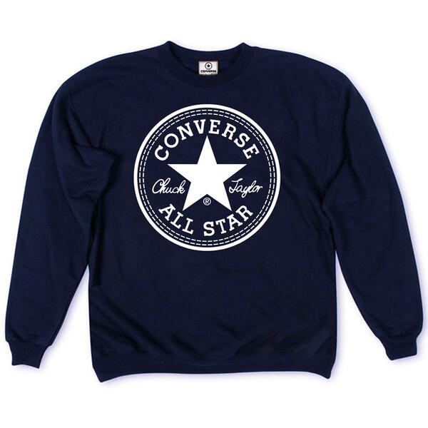 Толстовка Dark Blue Converse Classic White Round Label