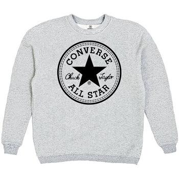 Толстовка Gray Converse Classic Black Round Label