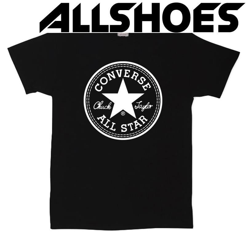 Футболка Converse Classic Black Round Label