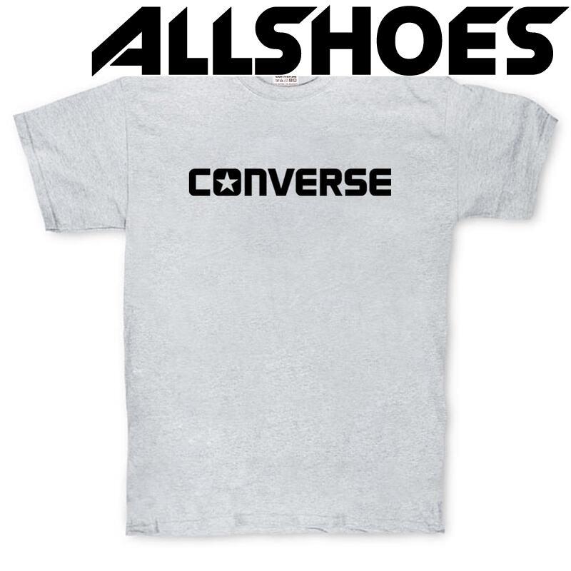 Футболка Converse Classic T-Shirt Gray