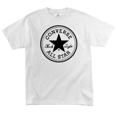 Футболка Converse Classic White Round Label