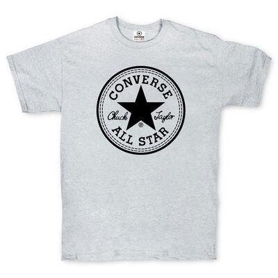 Футболка Converse Classic Gray Round Label