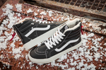 Vans Sk8 Hi Leather Winter Black (c мехом) фото 3