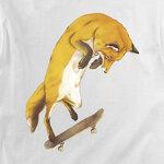 Футболка Fox on Skateboard фото 3