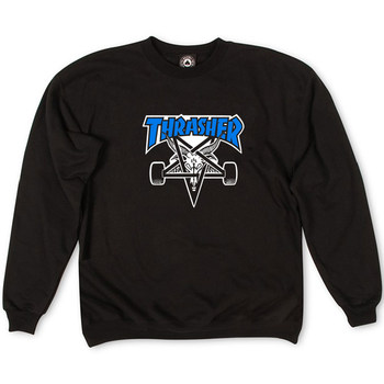 Толстовка Thrasher White Devil 666 for Blue