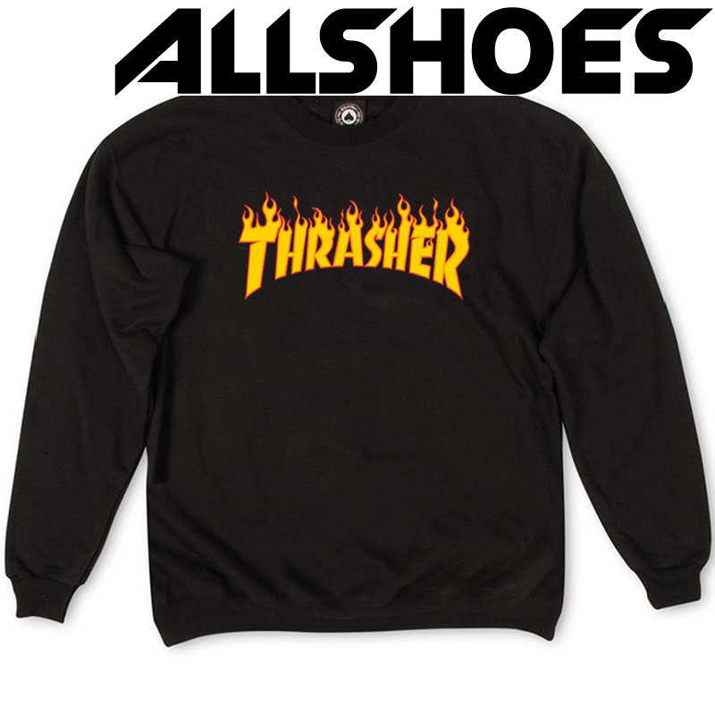Толстовка Thrasher Fire for Black