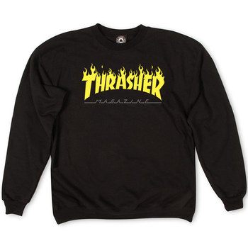 Толстовка Thrasher Fire Magazine Yellow