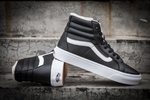 Vans Sk8 Hi Leather Black non Zip (с мехом) фото 7