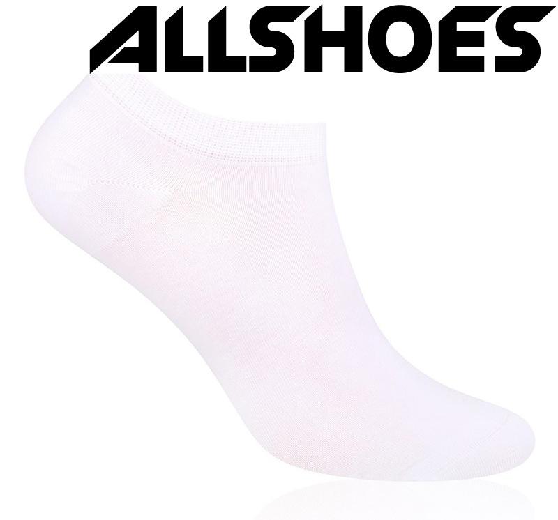 Женские носочки 100% хлопок, белые