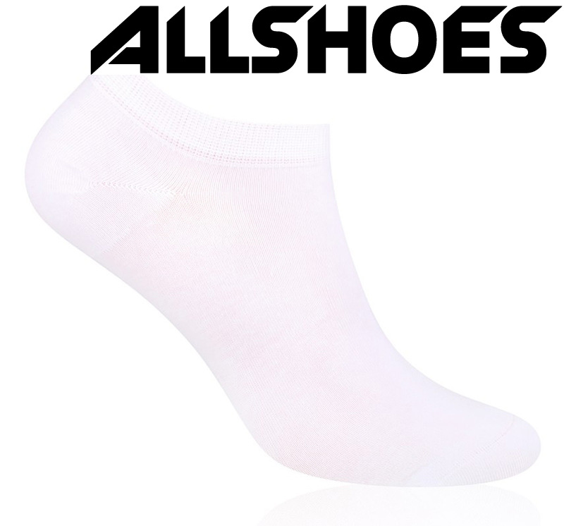 Мужские носки 100% хлопок, белые