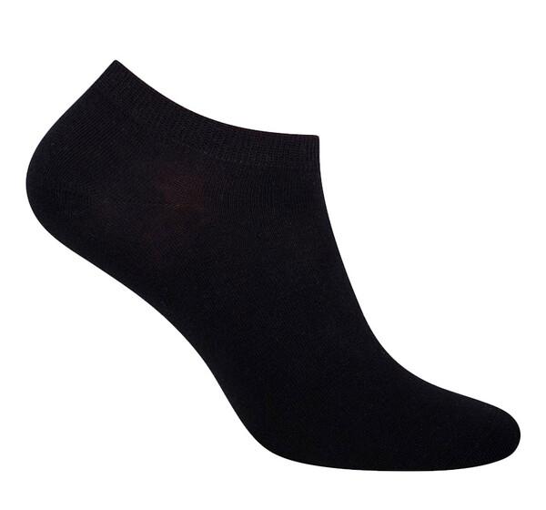 Мужские носки 100% хлопок, черные