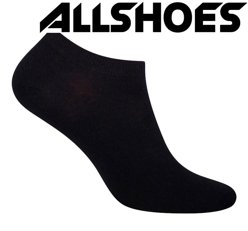 Женские носочки 100% хлопок, черные