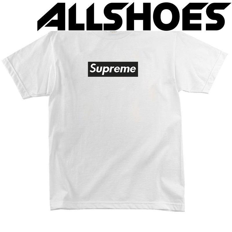 Футболка Supreme Black Label White