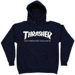 Толстовка Dark Blue Thrasher Skate Mag Hood фото 2
