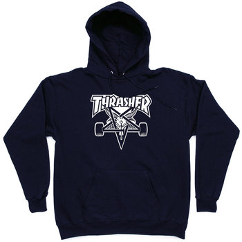 Толстовка Dark Blue Thrasher Skategoat Hood