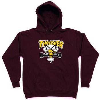 Толстовка Thrasher Vinous Yellow Bull Hood