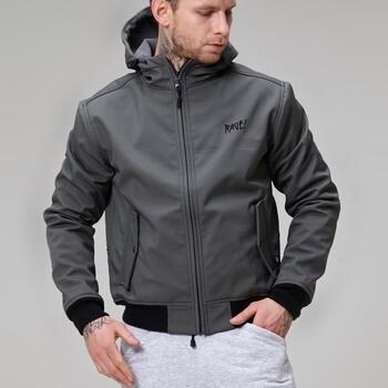 Осенняя куртка Softshell RAGE! SBJ-V1'17 gray