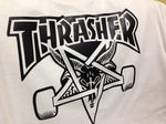 Футболка Thrasher Magazine Skateboard Black 666 фото 3