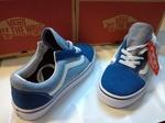 Vans Old Skool Blue & Light Blue фото 7