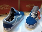 Vans Old Skool Blue & Light Blue фото 7