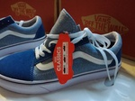 Vans Old Skool Blue & Light Blue фото 5