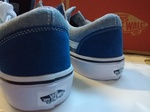 Vans Old Skool Blue & Light Blue фото 6