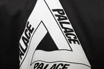 Футболка Palace Black with White Triangle фото 3